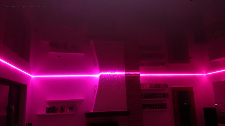 Was ist eine spanndecke - Beleuchtungssysteme wohnzimmer ...
